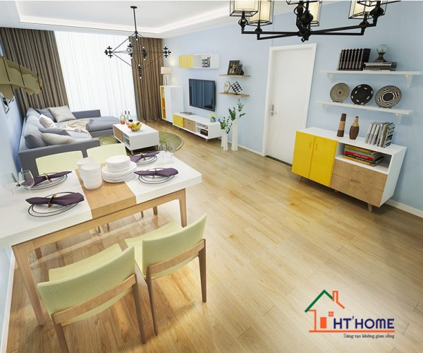 Nội thất căn hộ Anh Tùng - Cầu giấy
